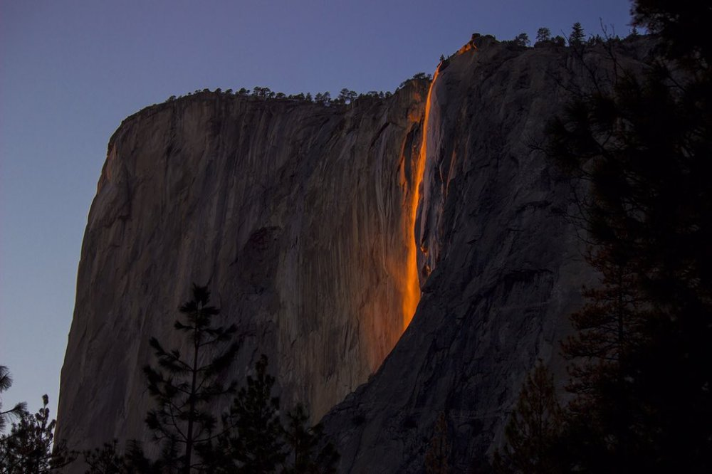 California's Yosemite National Park. Photo by Jason Shaw. Tweeted by the US Department of the Interior, 2/18/16.