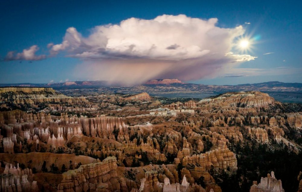 Utah's Bryce Canyon National Park. Take a trip in time by starting at Bryce, then going to Zion National Park and finally the Grand Canyon National Park to see what erosion on a geological time frame really looks like. Tweeted by the US Department of the Interior, 4/26/16.
