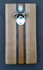 Magic Bottle Opener 16 - 033. Cherry, Black Walnut & Jatoba.