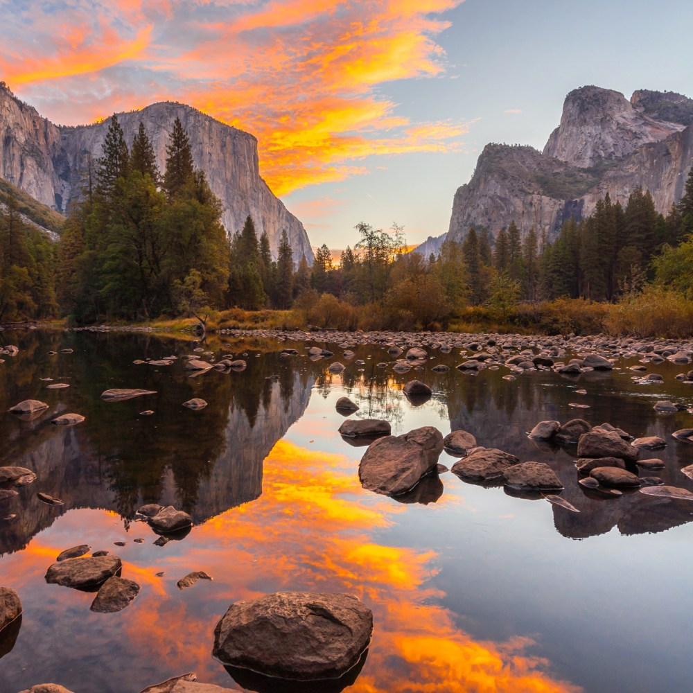 When sunrises are this beautiful, it's easy to get up early. Photo of California's Yosemite National Park by Tiffany Nguyen. Posted on Tumblr by the US Department of the Interior, 4/24/16.