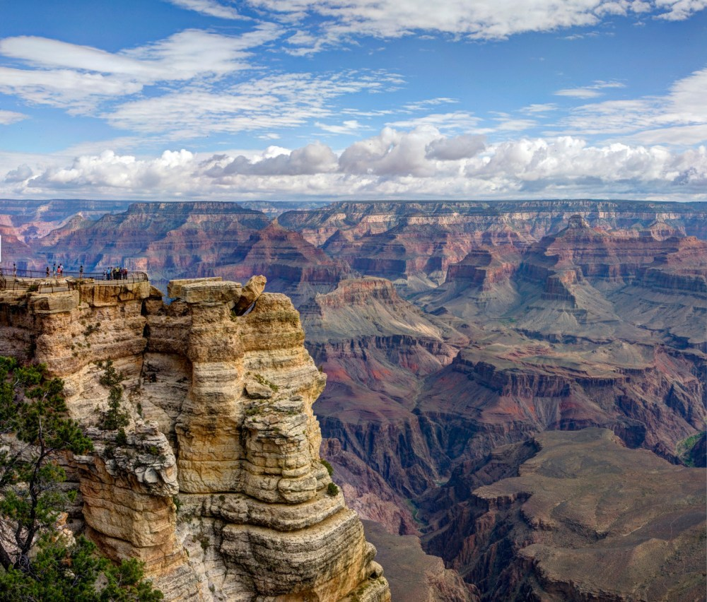 Photo of Grand Canyon National Park in Arizona by W. Tyson Joye, National Park Service. Posted on Tumblr by the US Department of the Interior, 6/19/16.