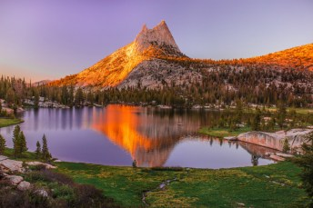 Wilderness areas are places untamed by humans. They protect America's pristine wild lands from development so they will not disappear. Of Yosemite National Park's 1,200 square miles, nearly 95 percent of it is designated as wilderness. Pictured here is Cathedral Peak along the John Muir Trail glowing with the setting sun. Photo by Vivek Vijaykumar. Posted on Tumblr by the US Department of the Interior, 6/18/16.