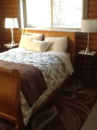 Did I mention this master suite also had a private entrance?