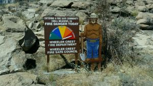 Smokey does not mess around. When he says the danger is extreme, believe him.