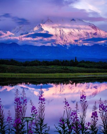 Alaska's Denali National Park. Photo by Gavin Danapong. Tweeted by the US Department of the Interior, 9/7/16.