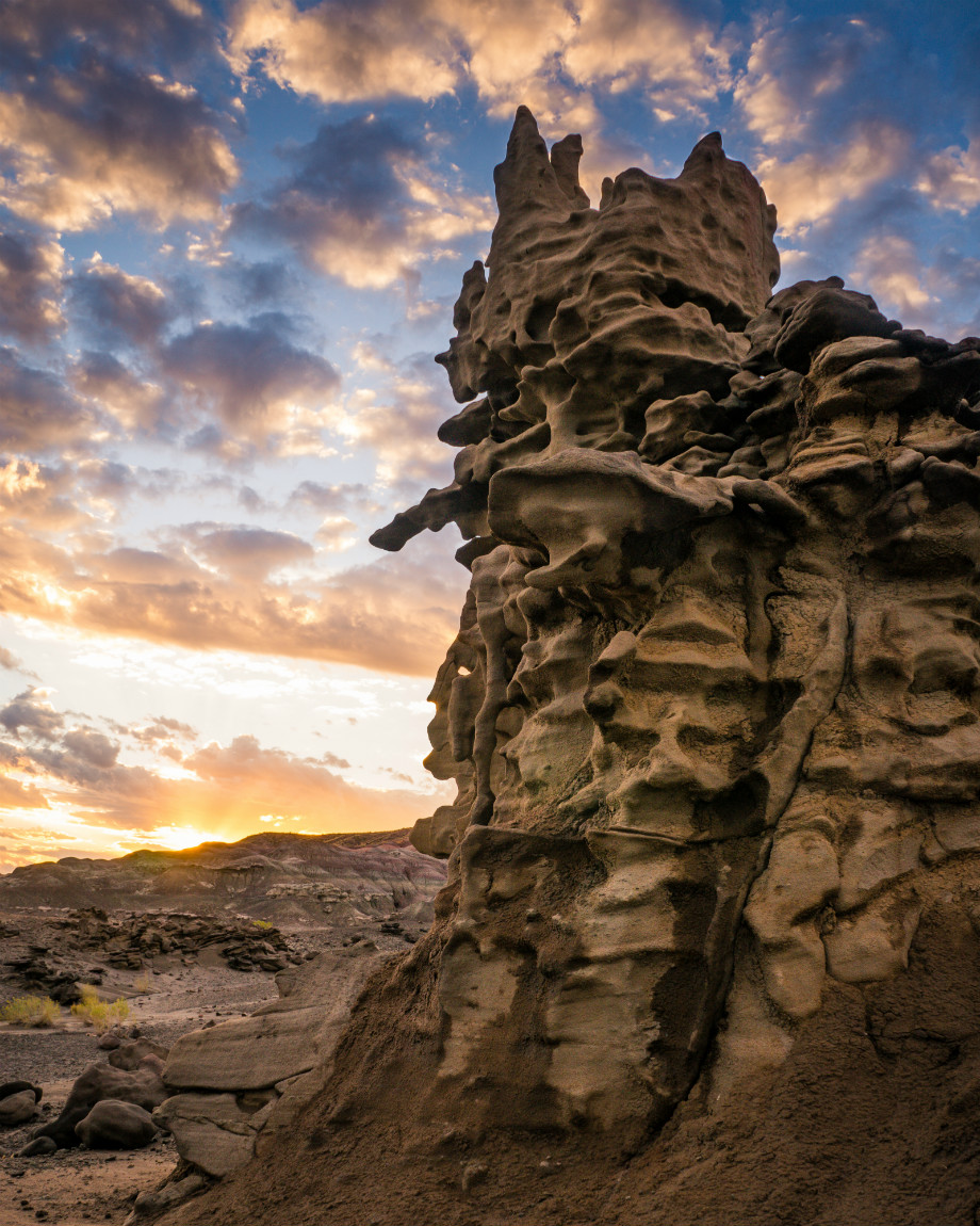 "As if Fantasy Canyon isn't already a great name, this remote wonderland in Utah has also been called ""The Devil's Playground"" and ""Hades Pit."" Off the beaten path of more famous Southwestern sites, Fantasy Canyon is protected by the Bureau of Land Management and boasts some of the most amazing erosional features you will ever see. Sunrise photo courtesy of Brock Slinger. Tweeted by the US Department of the Interior, 9/25/16."
