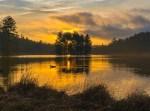Blue Ridge Parkway – Sunrise Bass Lake