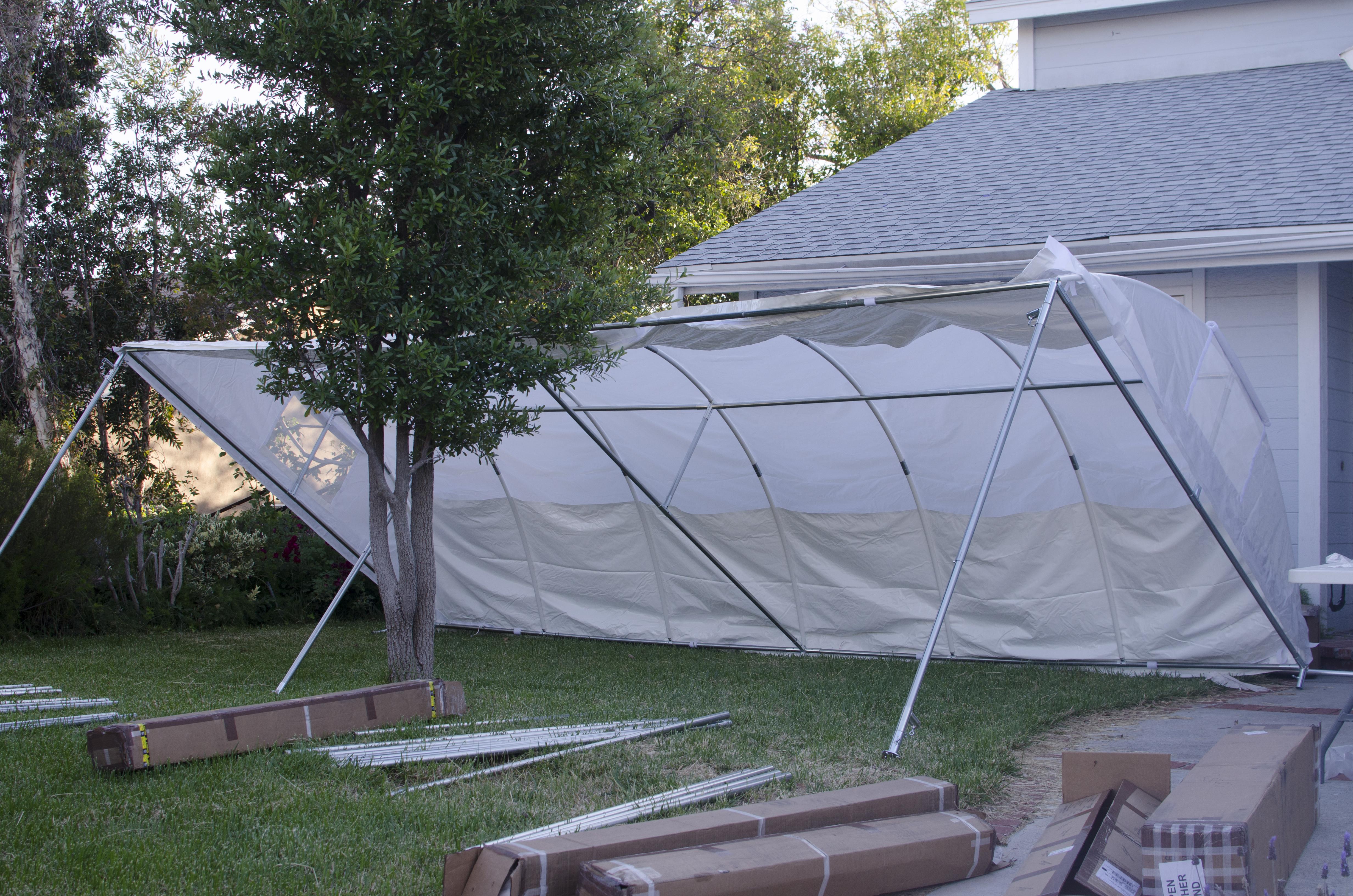 Buying A 10×20 Trimline Canopy by Flourish | MowryJournal.com