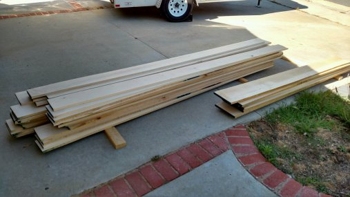 So, I've got this pile of wood....