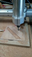 The software chooses the most efficient way to cut the pattern. I'm told.