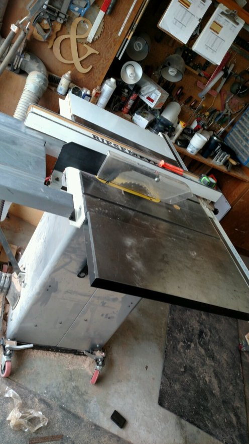From The Shop: Replacing a Table Saw Motor, Craftsman