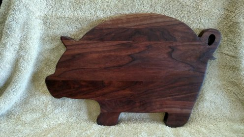 Pig 18 - 607. Black Walnut.