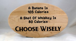 CNC Sign 18 - 120 A Banana Is