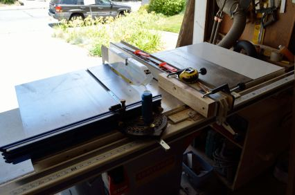 The most important power tool in the shop. The table saw is the most versatile, and the most dangerous, of the tools I use.