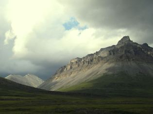 "A ""wow"" photo of a summer storm in Anaktuvuk Pass. Tweeted by the US Department of the Interior, 1/25/14."