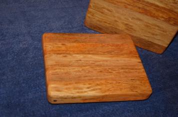 """# 13 Cheese Board, $35. Edge grain. Ash. 10"""" x 8"""" x 1-1/2""""."""