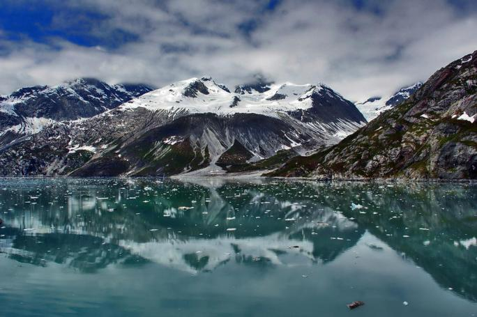 Alaska's Glacier Bay National Park. Photo by Mike Holoway. Tweeted by the US Department of the Interior, 12/18/14.