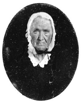 Elizabeth McDonald Morgan (1796 - 1866). My mother's mother's father's father's mother. My Great Great Great Grandmother.