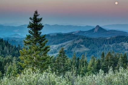 """A hidden gem in America's Pacific Northwest is the Cascade-Siskiyou National Monument in Oregon. Called an amazing treasure, Cascade-Siskiyou covers more than 62,000 acres and is best known for the unique landscapes created by the convergence of species from the high deserts of the Northern Great Basin to the temperate rain forests of the Pacific Coast. As BLM photographer Bob Wick said: """"This area is a botanist's dream where the Cascade, Great Basin and Coast Range-Klamath ecosystems come together. You can turn a corner and go from walking through a dense mossy red fir forest to sagebrush and mountain mahogany in a few feet."""" Photo by Bob Wick, Posted on Tumblr by the US Department of the Interior, 6/2/15."""