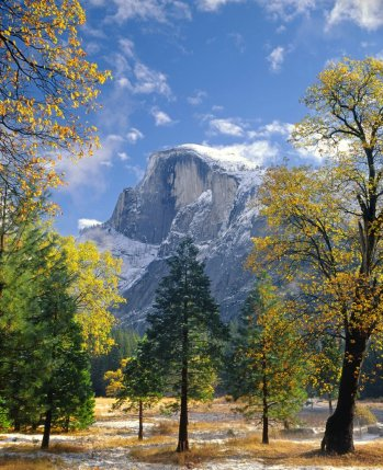 Yosemite's Half Dome. Picture by Ed Cooper. Tweeted by the US Department of the Interior, 12/6/15.