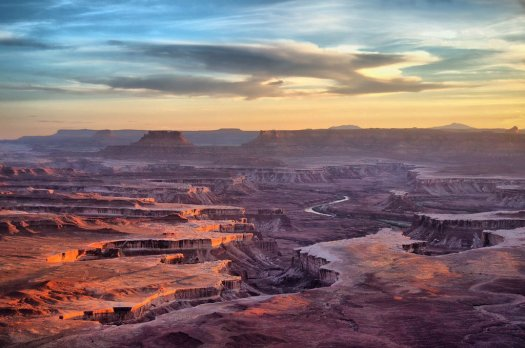 Utah's Canyonlands National Park. Photo by Rowena Trapp. Tweeted by the US Department of the Interior, 1/31/16.