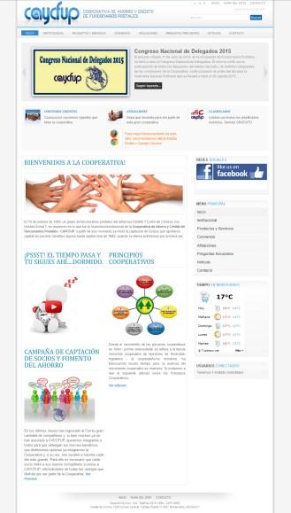 Caycfup Cooperative Website
