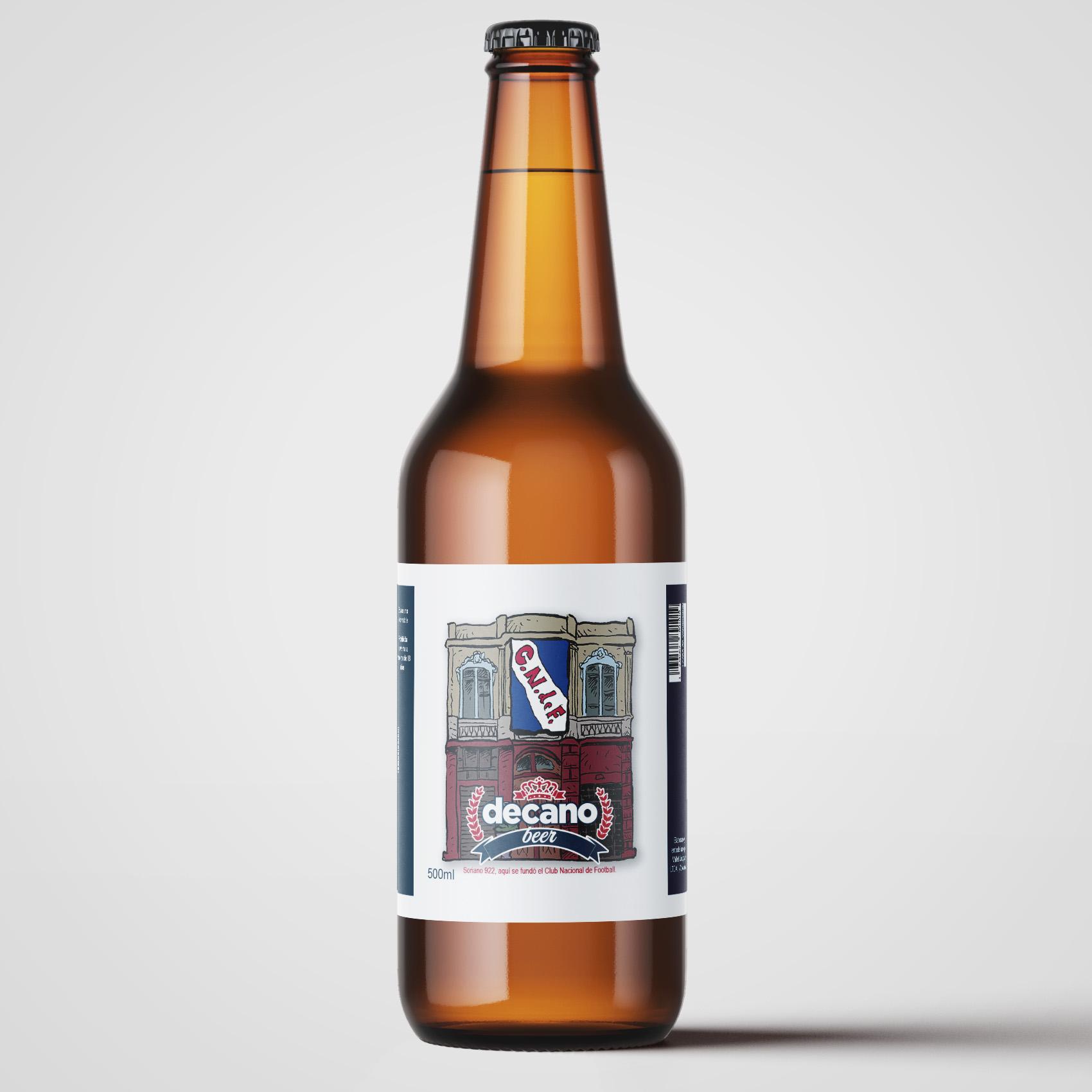 Decano Beer Label Sample