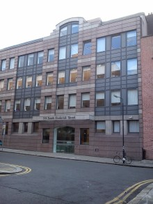 5 South Frederick Street, long since replaced by this office block