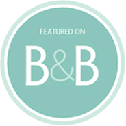 featured on Borrowed & Blue blog badge