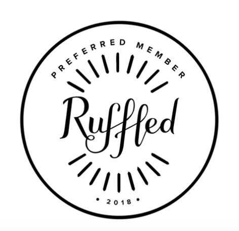 Ruffled vendor Badge 2017