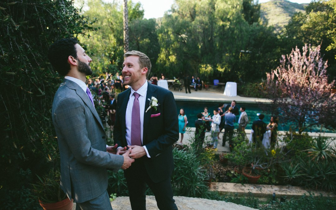 Heartfelt & Intimate Wedding at The Mountain Mermaid | Daniel & Ethan