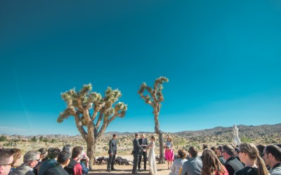 Vibrant Rimrock Ranch Wedding, Pioneertown, CA | Claire & Andy