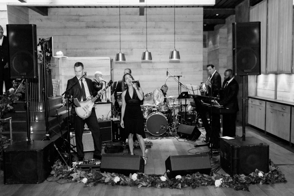 DeBois Entertainment live band, Hinoki and the Bird wedding, Moxie Bright Events