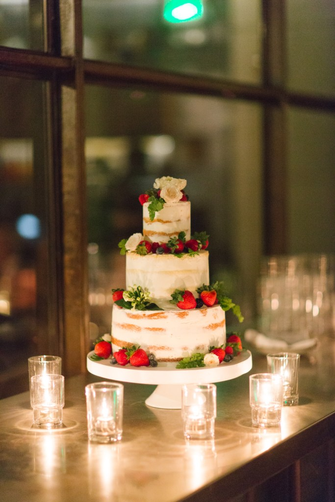 naked wedding cake by Sweet Lady Jane, Moxie Bright Events, Hinoki and the Bird wedding