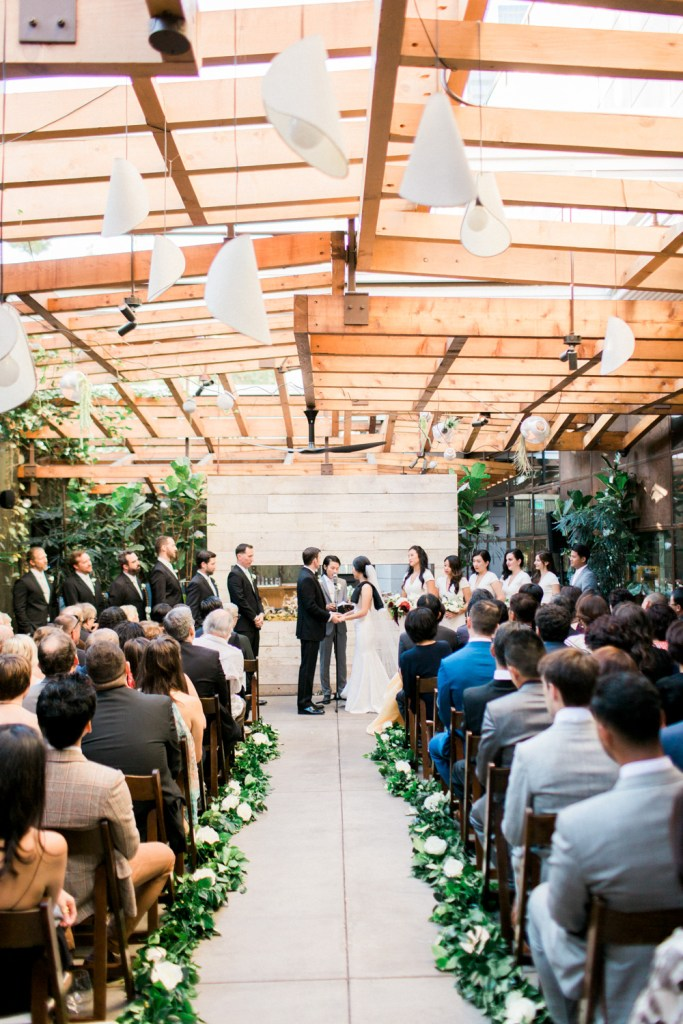 wedding ceremony Hinoki & the Bird, Moxie Bright Events
