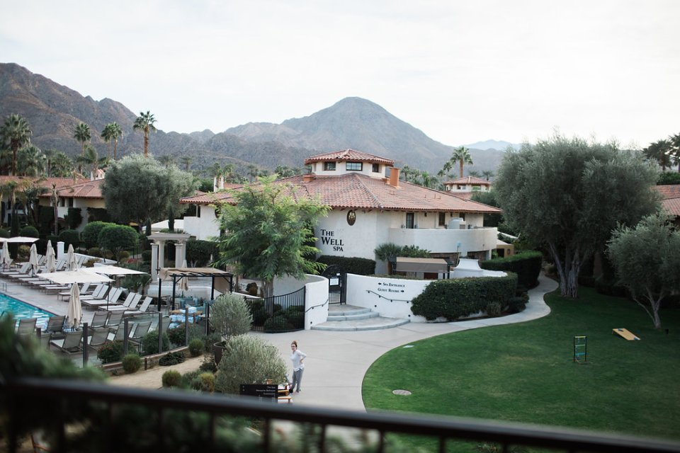 The Well Spa at Miramonte Resort & Spa, Indian Wells, CA is the perfect place to relax, pre-wedding.