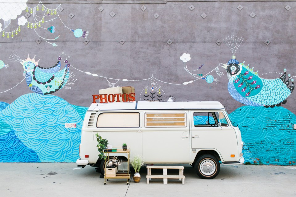 VW Photo Booth photo bus