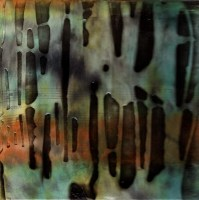 """ProtoNext #52 Acrylic and Sheet Music on Paper, mounted on wood, 5""""x5"""""""