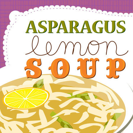 Asparagus Lemon Soup by Deborah Mori