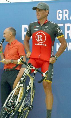 El doping de Armstrong. Foto Wikipedia