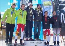 Antonio Alcalde y Alvaro Sumozas campeones españa skimo equipos sub23 2014 (Foto: OS2O)