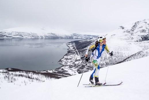 Skimo 2014 tromsö world cup esqui de montaña emelie forsberg. Foto: ISMF Skimo