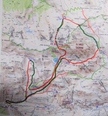 Altitoy 2015 mapa etapa 1 Pic du Midi