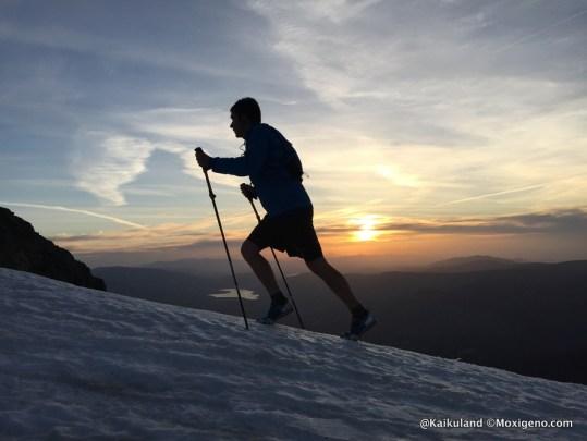 Bastones trekking speedlite OS2O. Montañismo clásico en el Guadarrama. Foto: Kaikuland