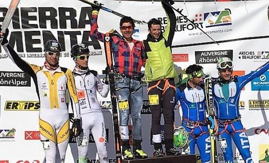 Pierra Menta 2016: Kilian y Mateo campeones. Foto @skialper