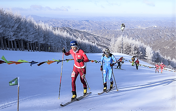 skimo world cup ismf china photo ismf