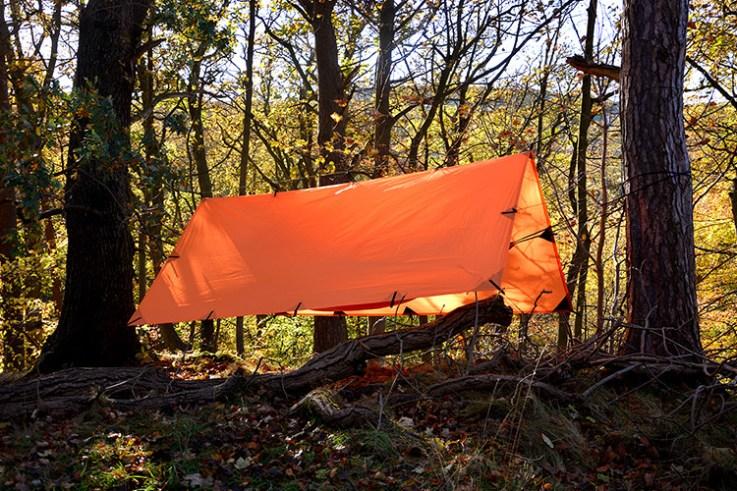 Tarp SuperLight 3 x 2,9 m Naranja DD Hammocks 2