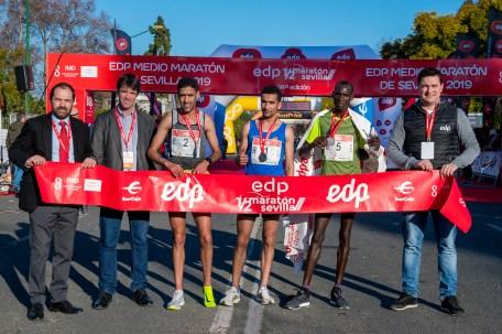 Sevilla, 27/01/2019. EDP Medio Maratón de Sevilla. Foto: Juan Jose Ubeda.