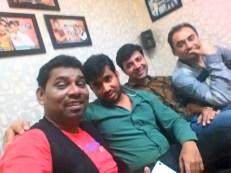 Raj Mahajan, Comedian Siraj Khan, Comedian Priyesh Sinha and Comedian Rajeev Malhotra