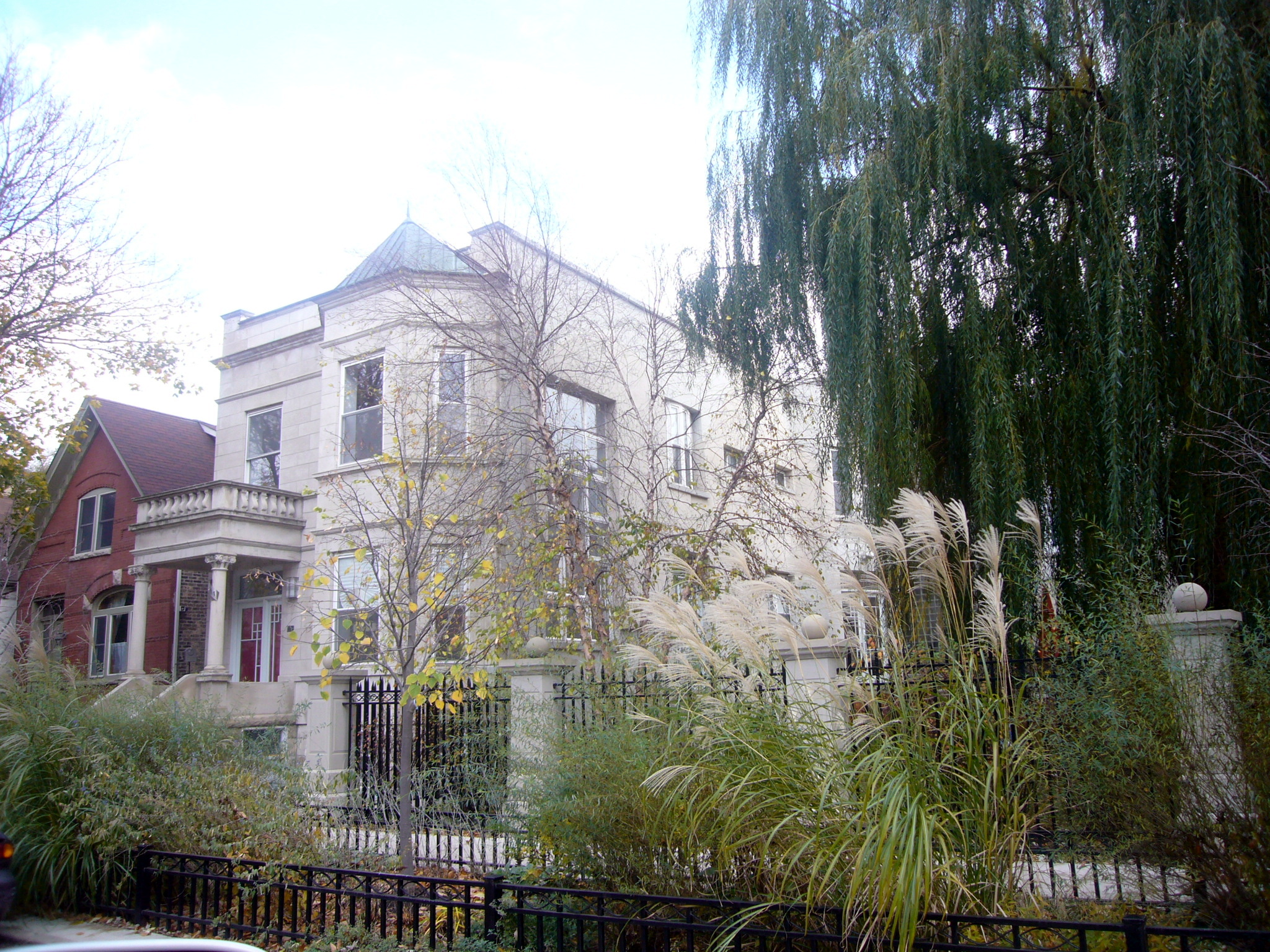 Новозбудована (в 2001 році) вілла на вулиці Hoyne